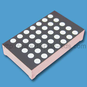 1.2 inch 5x7 bi warna LED dot matrix