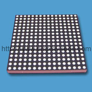 1,5 inci 16x16 Dot Matrix LED Display dengan anoda umum