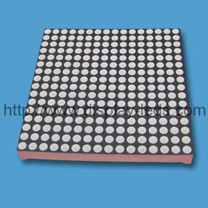 Layar 2,5 inci 16x16 Dot Matrix LED