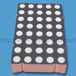 1,4 inci 5x8 LED Dot Matrix
